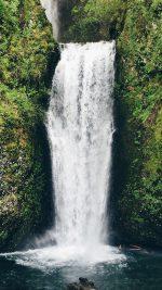 Waterfall Nature Vacation Green
