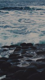 Wet Sea Beach Wave Dark Olivia Henry Nature