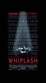 Whiplash Poster Film Music Drum Dark