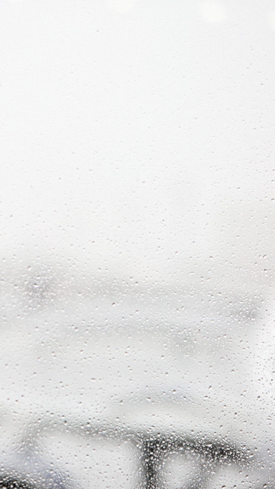Window Rain Bubble Nature City White