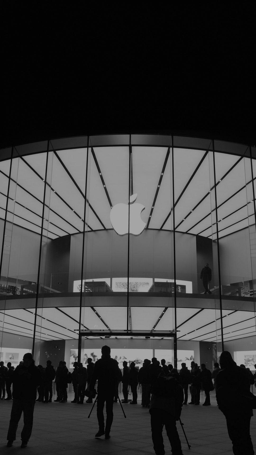 Apple Store Event City Architecture Dark