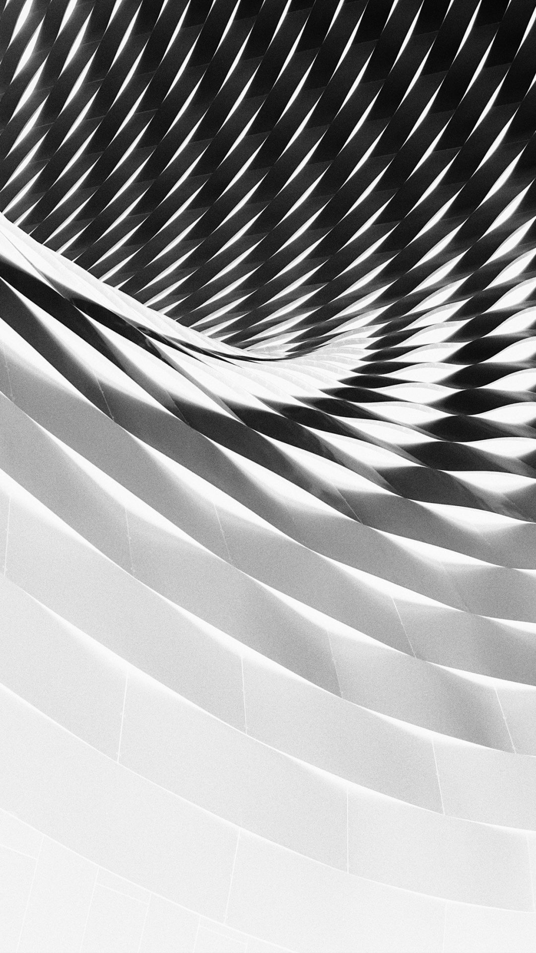 Art Architecture Dark City Bw White Pattern