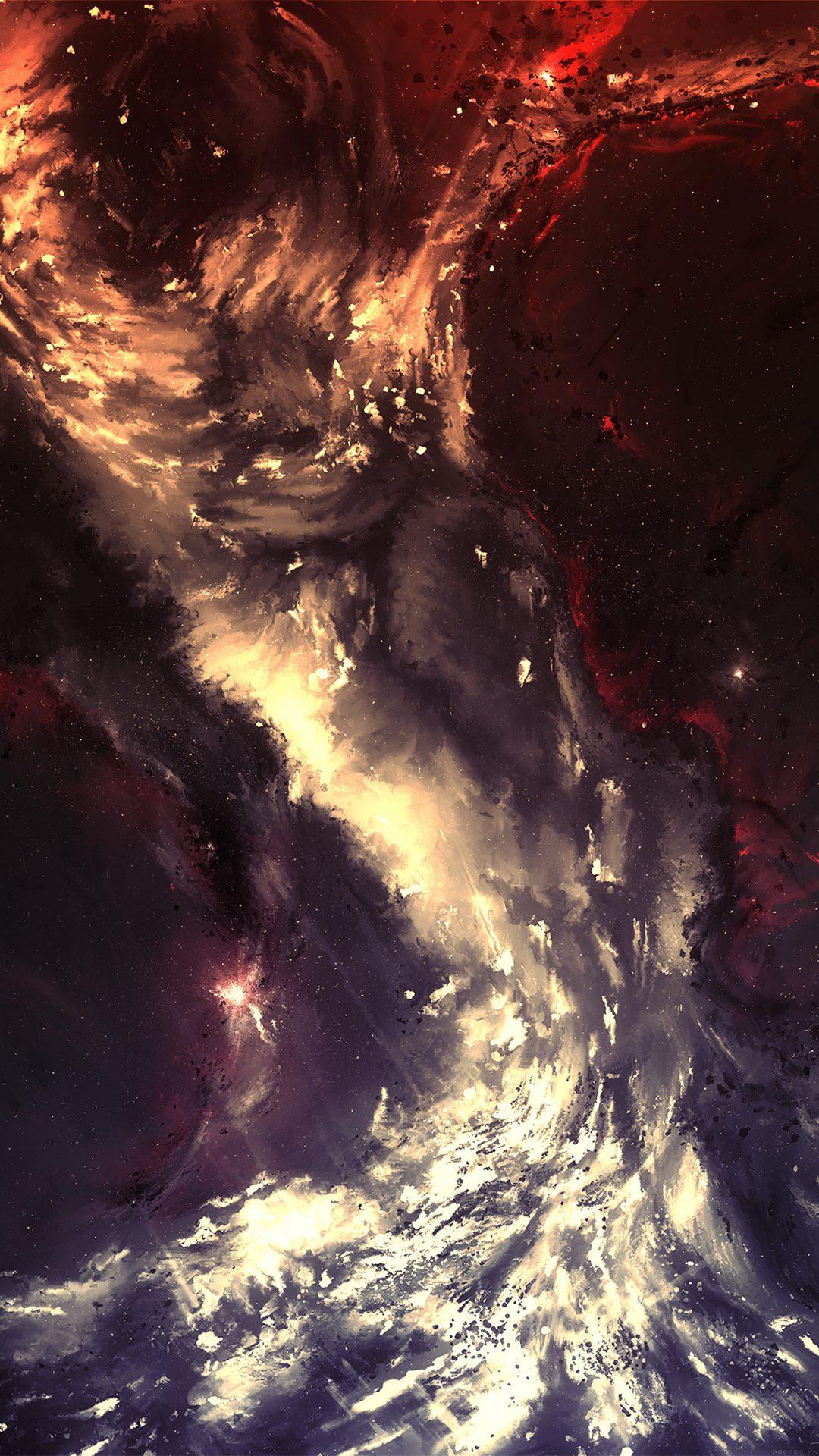 Art Painting Illust Art Hurricane Abstract