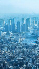 Tokyo Blue City Cloud Metropolitan