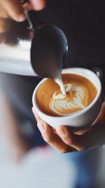 Coffe Barista Art Bokeh