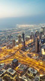 Dubai City Traffic