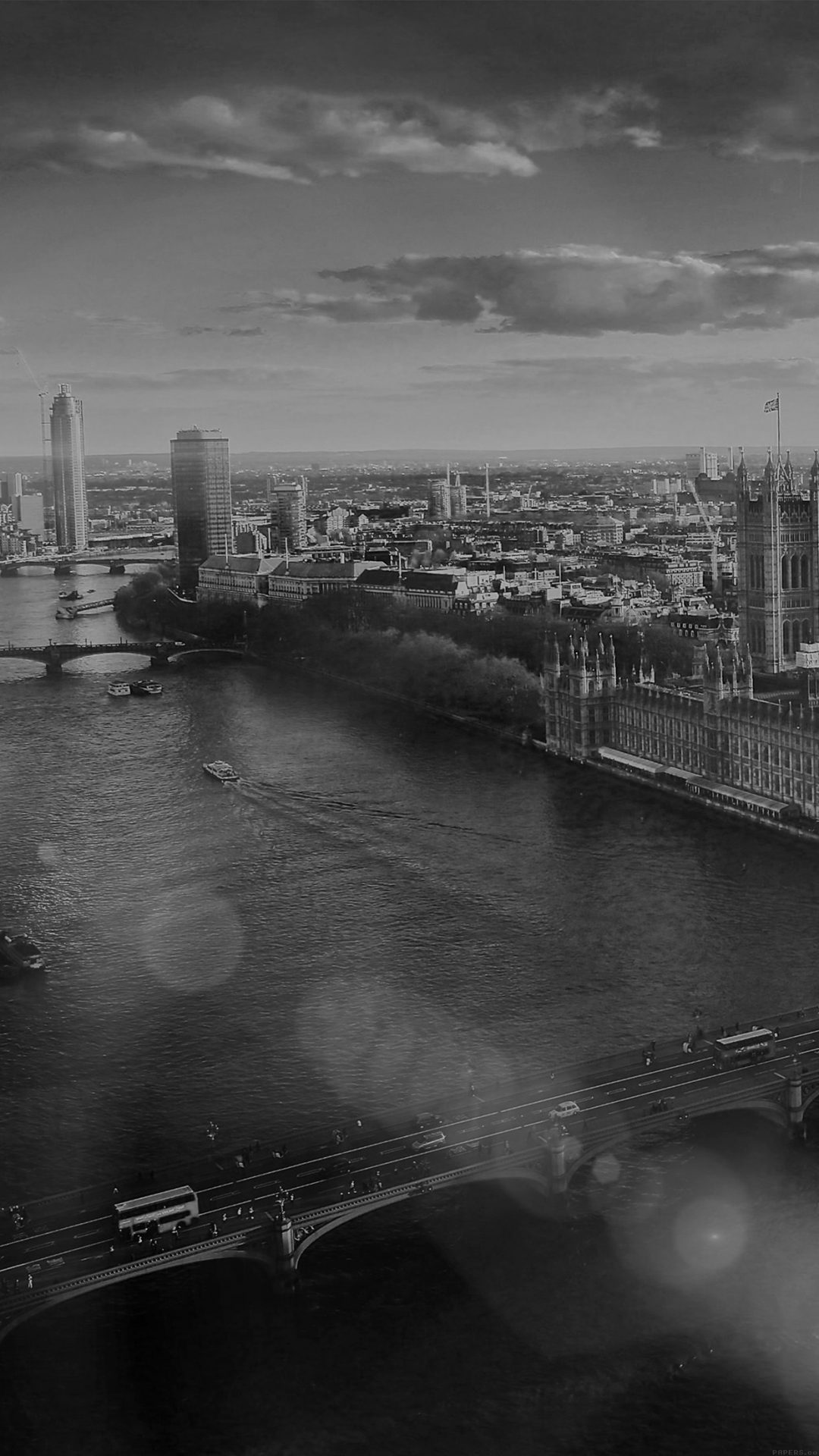 England London Dark Bw Skyview City Flare Big Ben Nature