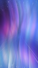 Fantasy Purple Blue Abstract Pattern