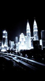 Kuala Lumpur Dark City Urban Art Illustration
