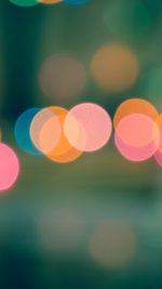 Light Bokeh Blur Pattern