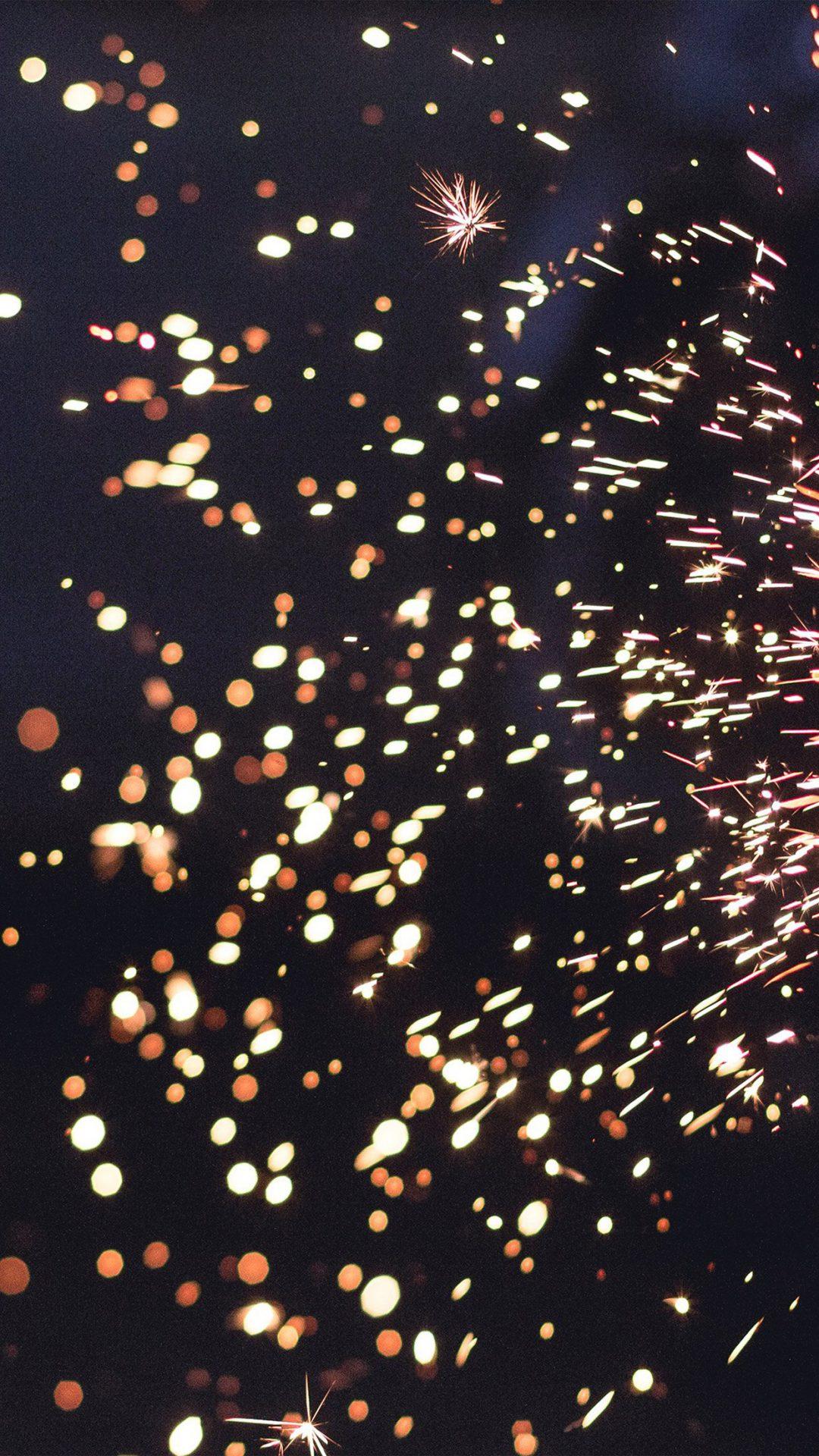 Light Bokeh Fire Pattern
