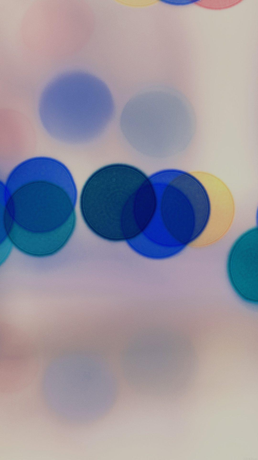 Light Bokeh White Blur Pattern