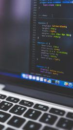 Macbook Bokeh Coding Apple