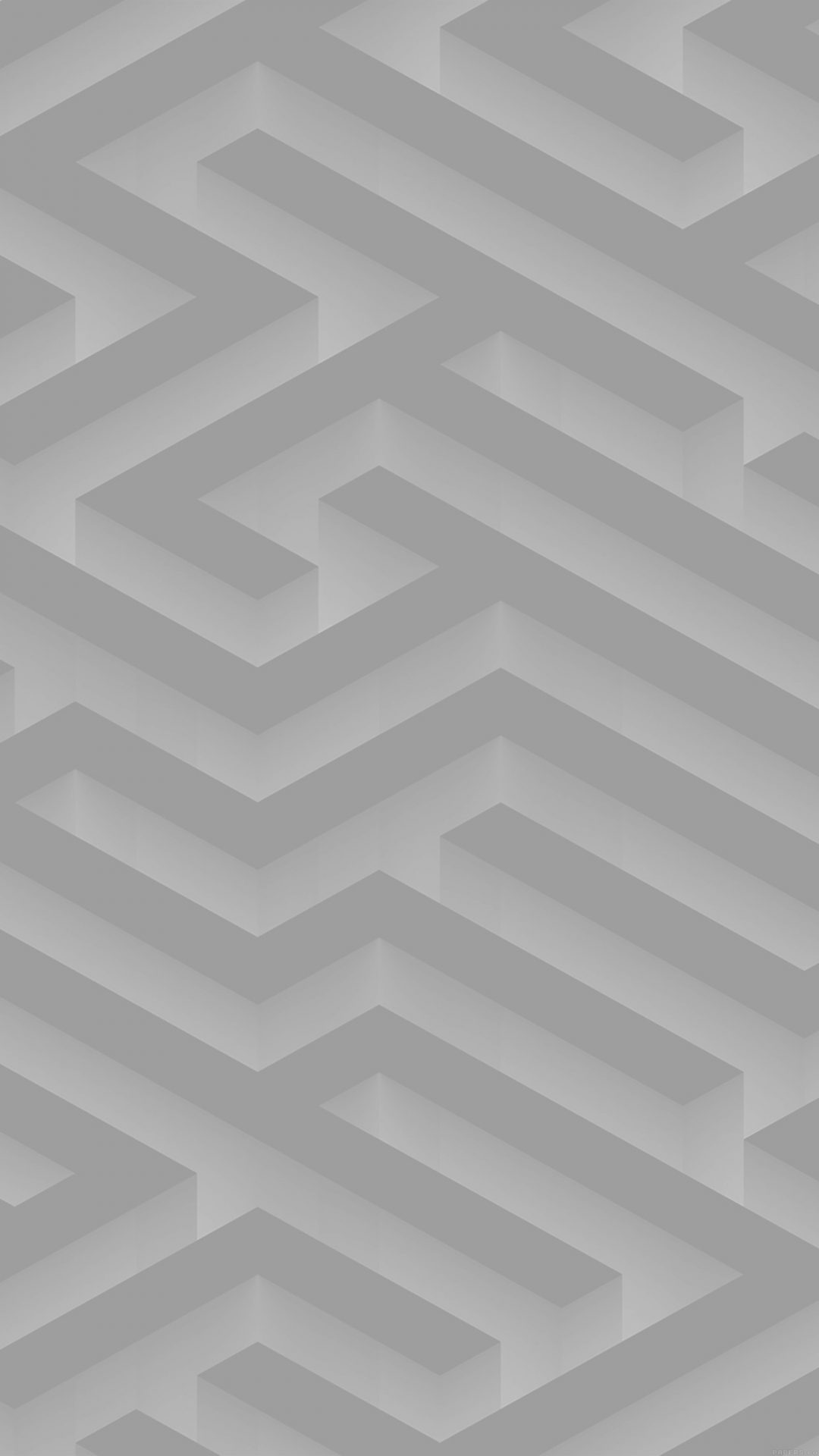 Maze Art White Abstract Patterns