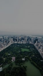 New York Dark Central Park Skyview Nature City