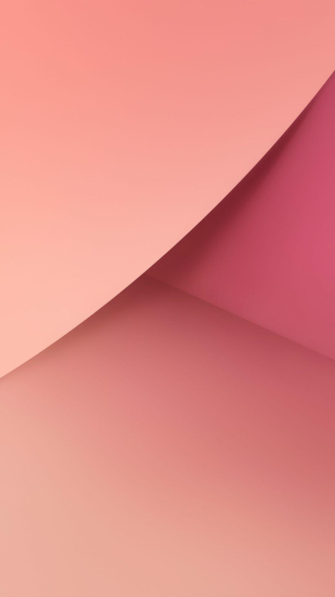Note 7 Pink Galaxy Circle Abstract Pattern