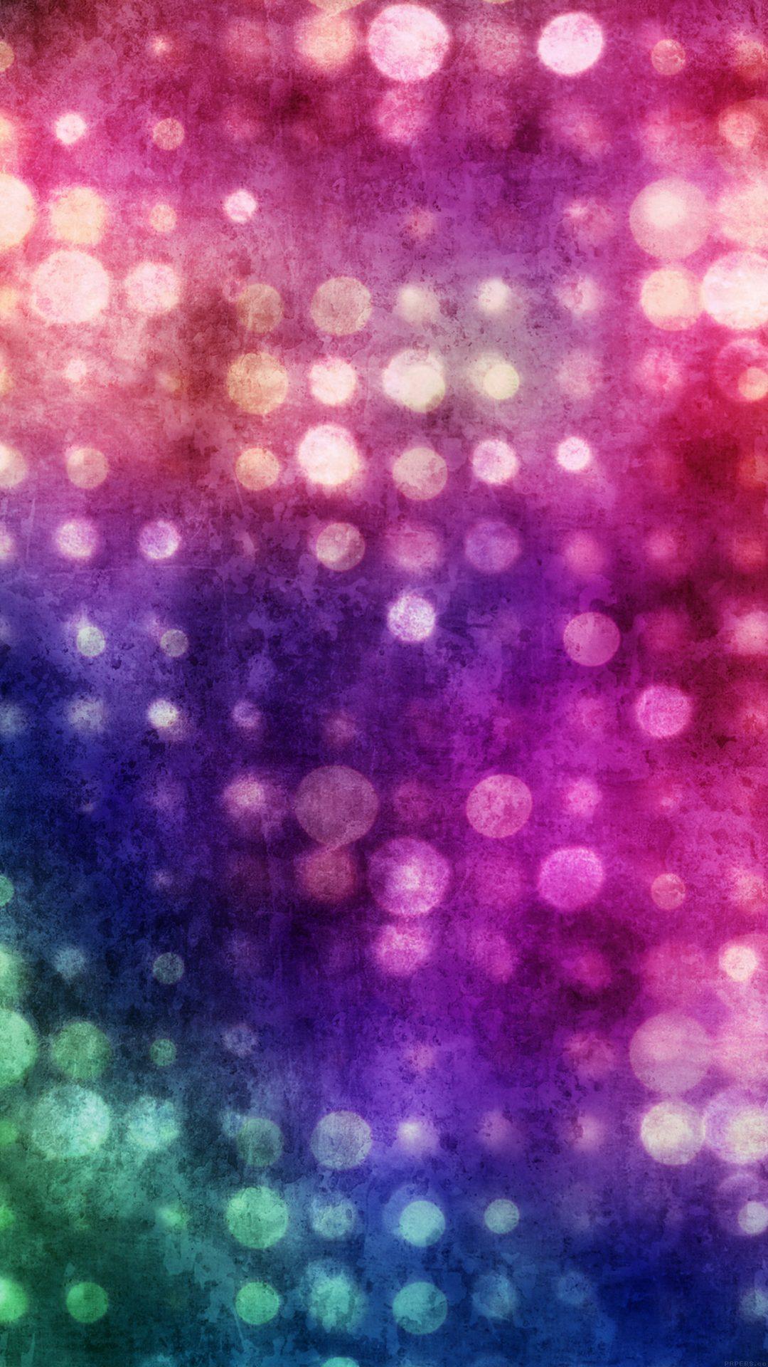 Party Light Bokeh Color Pattern