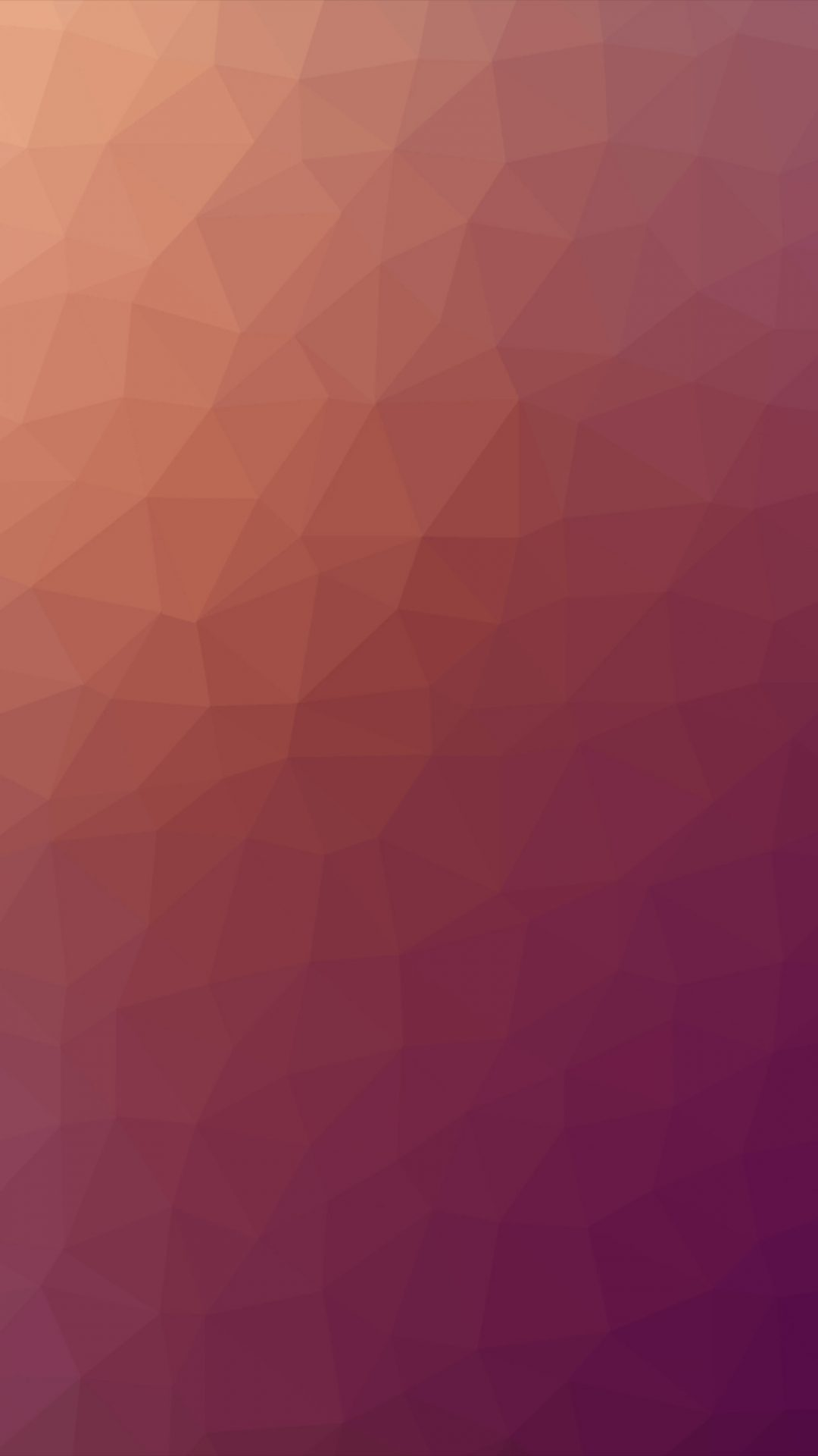 Poly Art Abstract Fire Red Pattern