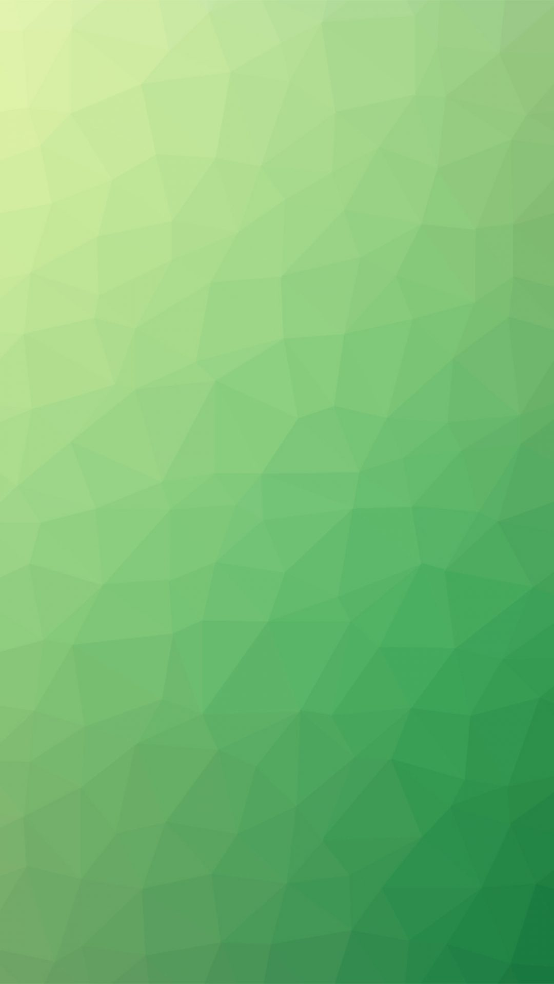Poly Art Abstract Green Pattern