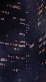 Prudential Jason Art Bokeh Night Building City Pattern