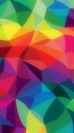 Rainbow Abstract Colors Pattern