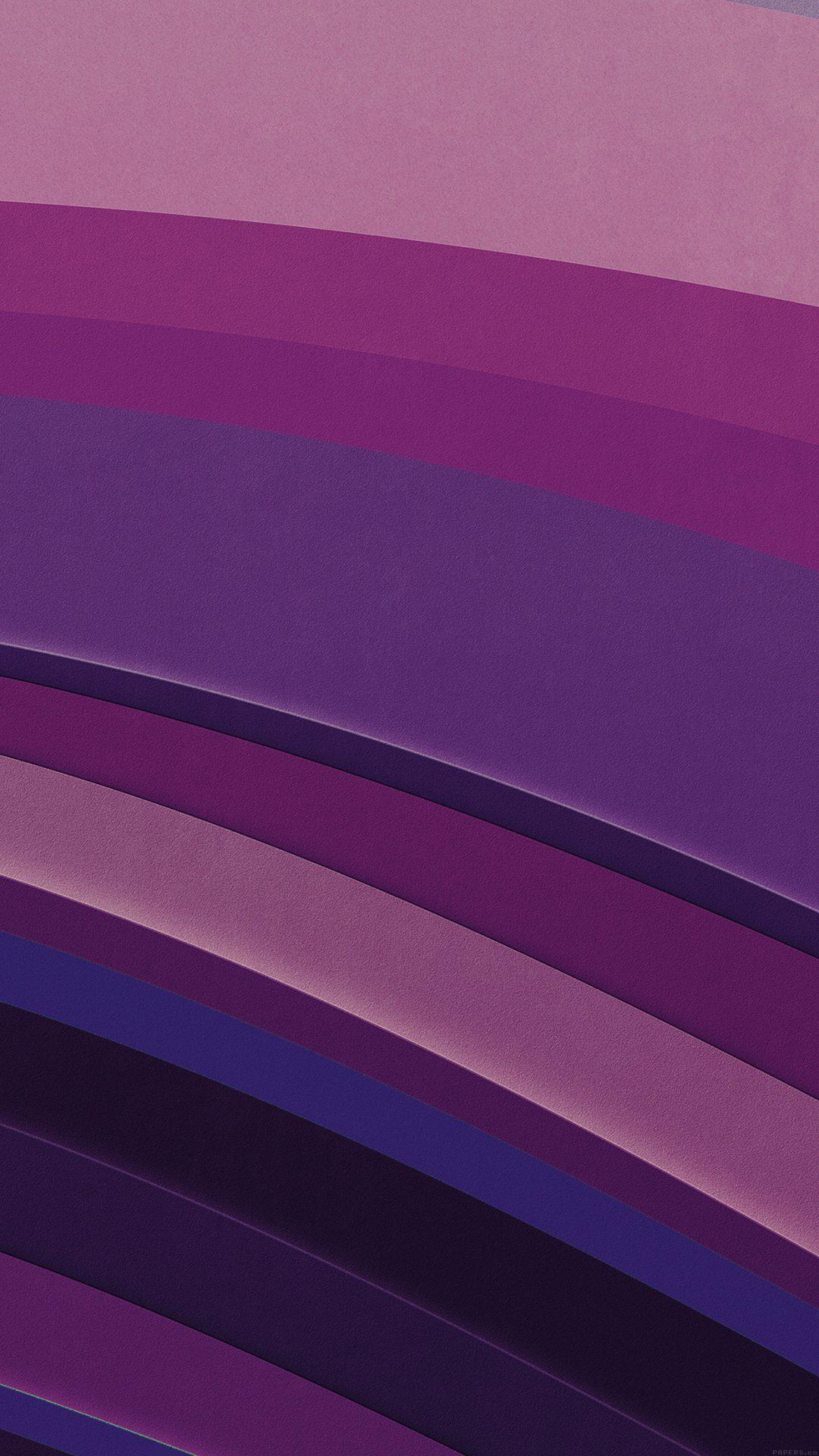 Sea Abstract Purple Graphic Art Pattern