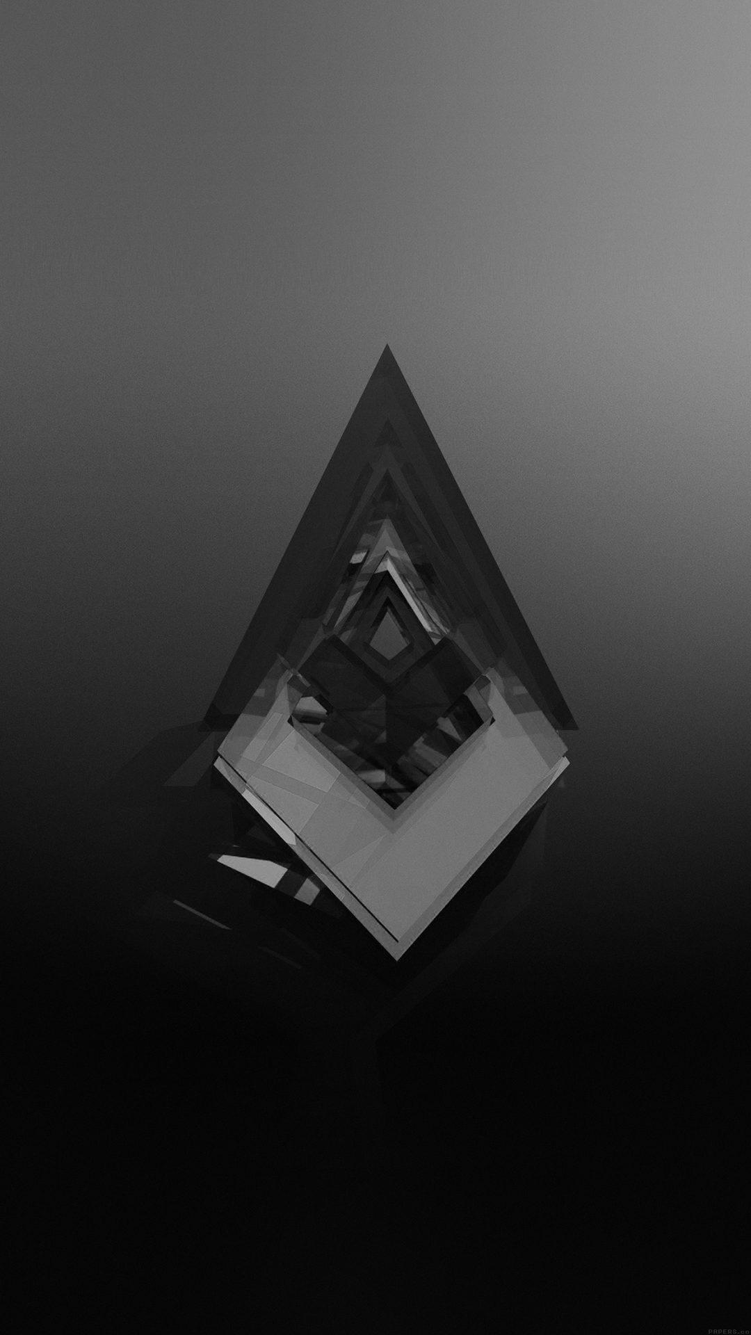 Symbol Abstract Dark Black