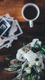 Table Flower Coffee Life Bokeh