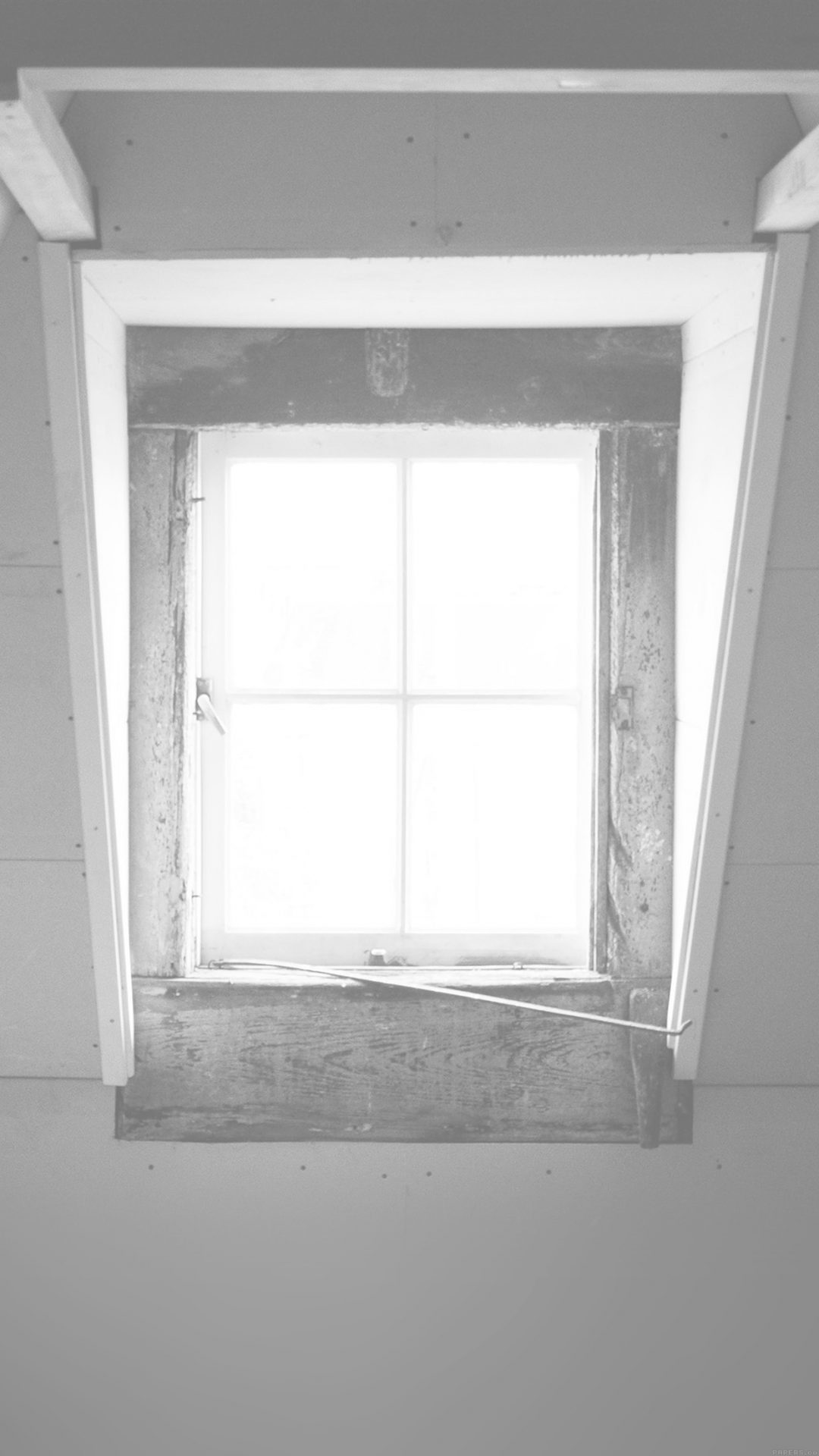 Window Lonely Light Home City White