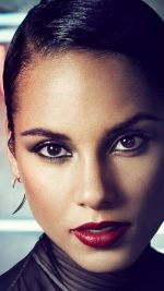Alicia Keys Singer Songwriter Dark Celebrity
