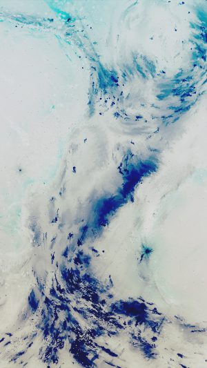 Art Painting Illust Art Hurricane Blue Abstract