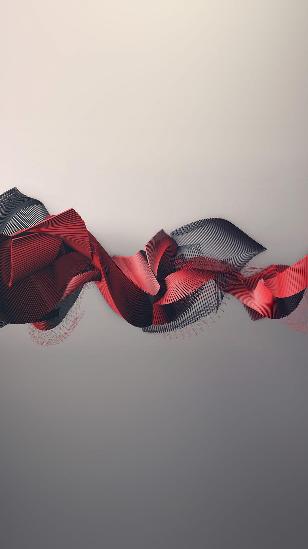 Art Pattern Abstract Art Red Illust