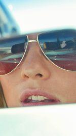 Behati Prinsloo Glasses Holiday Model