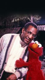 Bill Cosby With Sesame Street Elmo