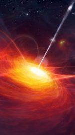 Blackhole Space Blue Star Nature Art