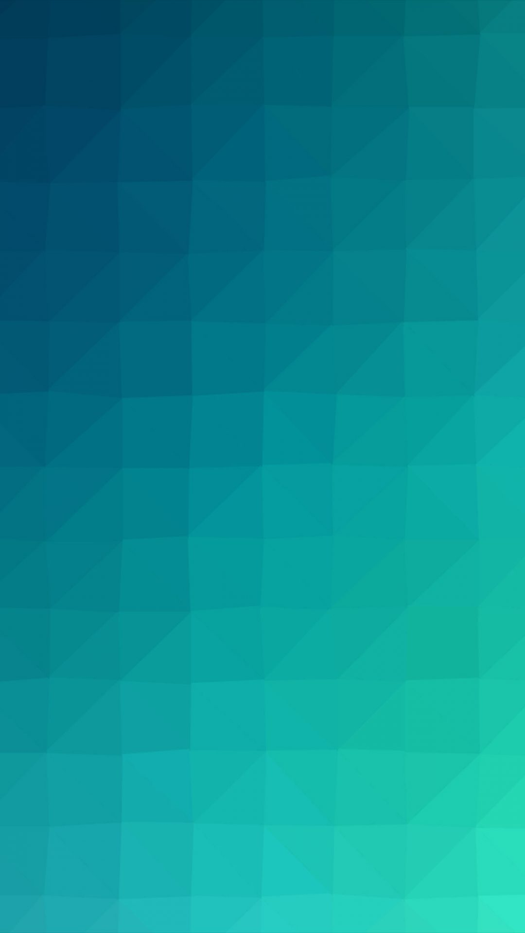 Blue Green Polygon Art Abstract Pattern