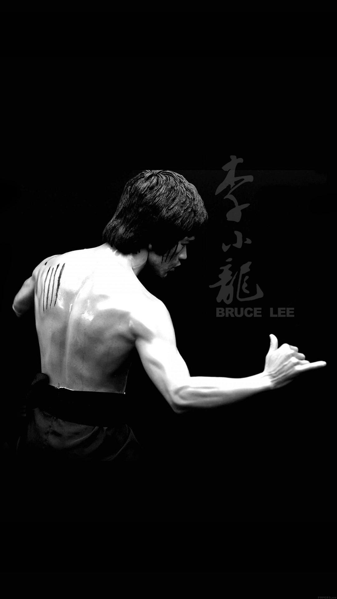 Bruce Lee Sports Actor Celebrity Dark