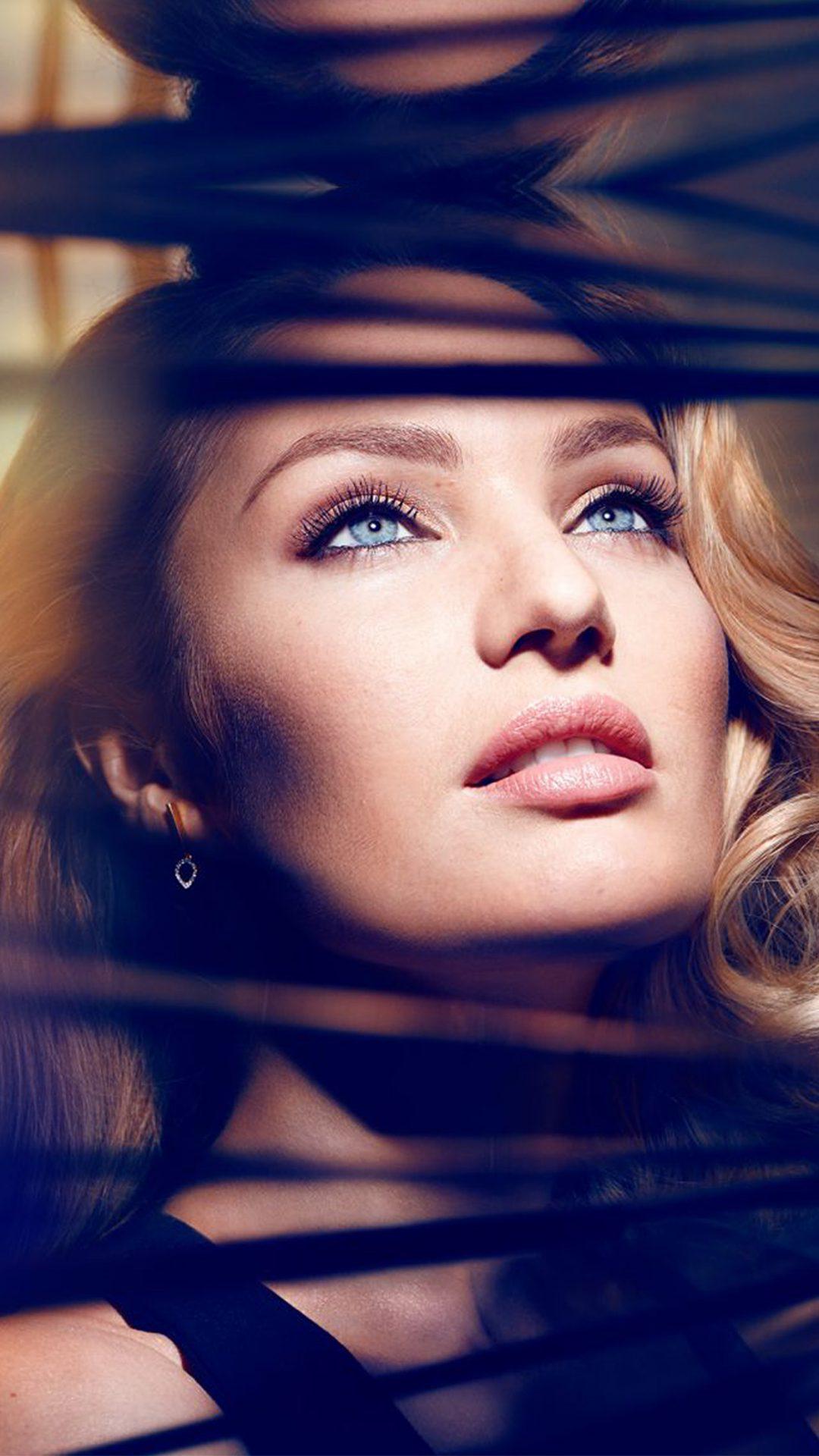 Candice Swanepoel Dark Blue Victoria Secret Model