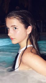 Chloe East Pool Cute Wet