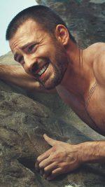 Chris Evans Rock Climbing Star