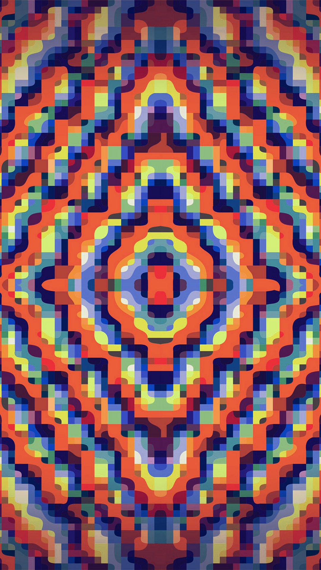 Color Rainbow Art Lovely Pattern Abstract Orange