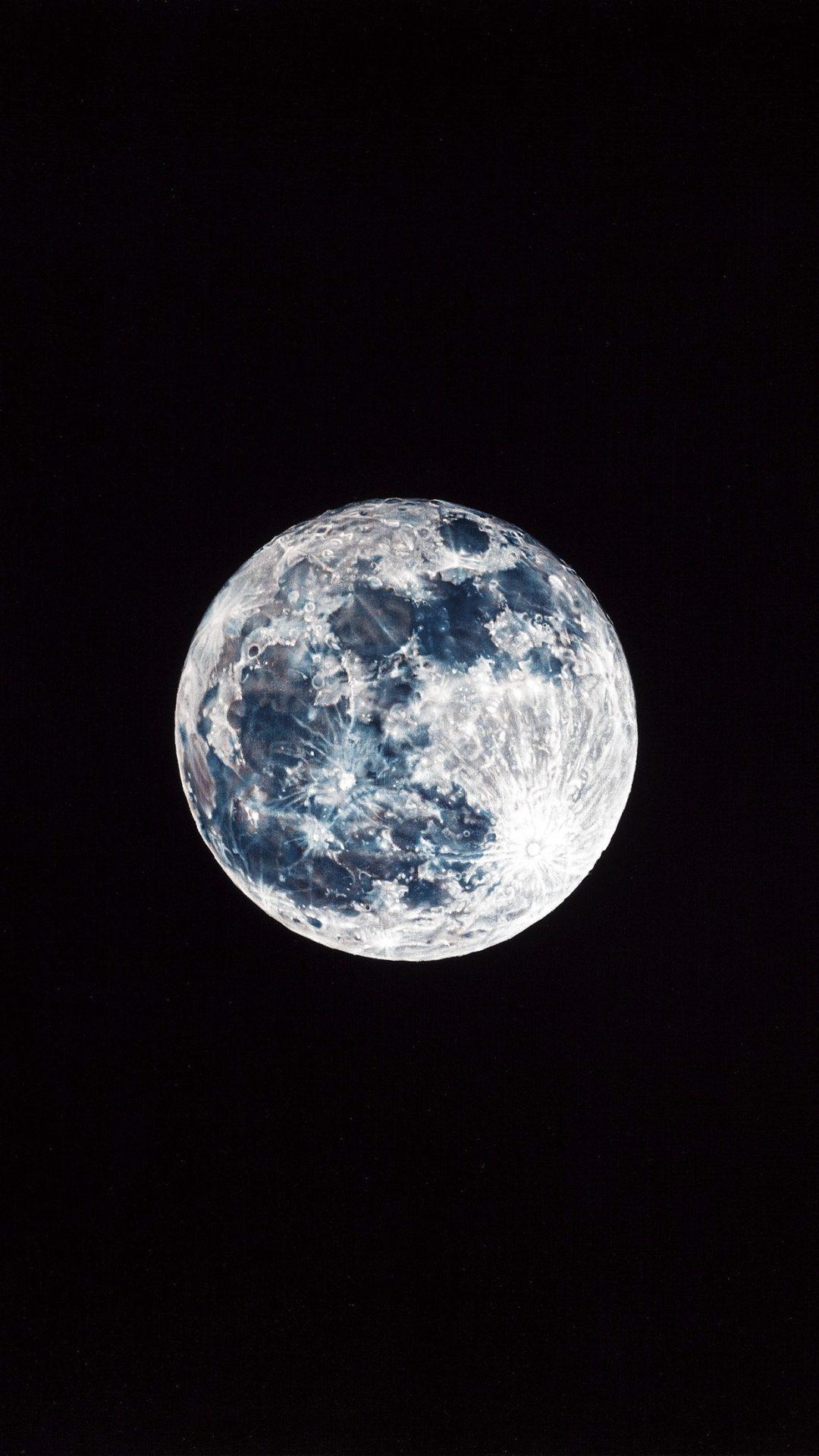 Damian Moon Dark Nature Space Sky