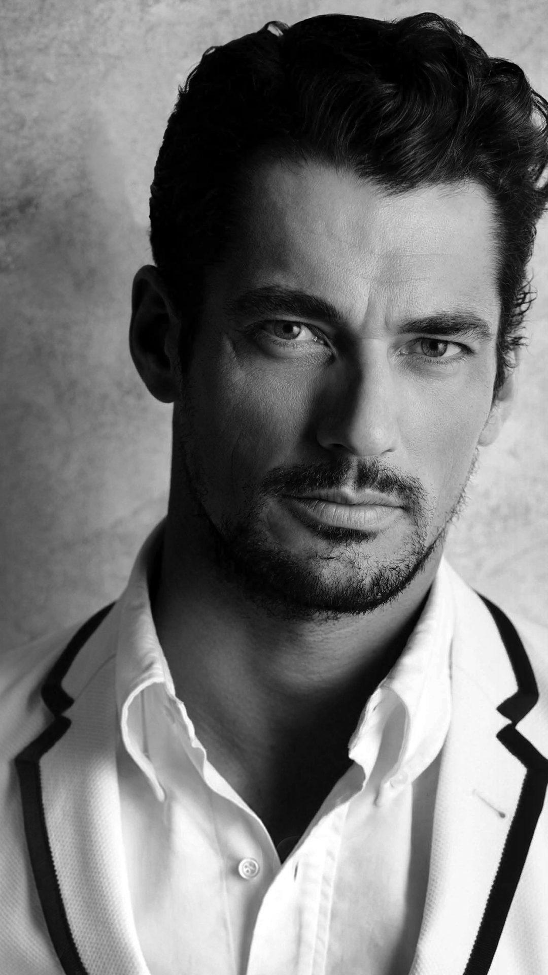 David Gandy Handsome Model Bw Dark