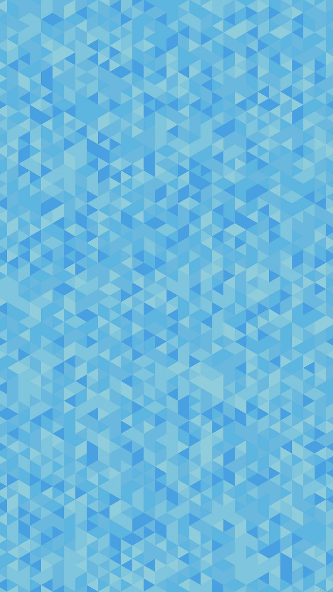 Diamonds Abstract Art Blue Pattern