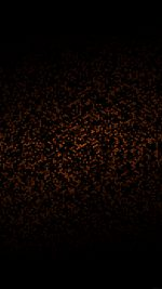 Dots Pattern Black And Orange Abstract
