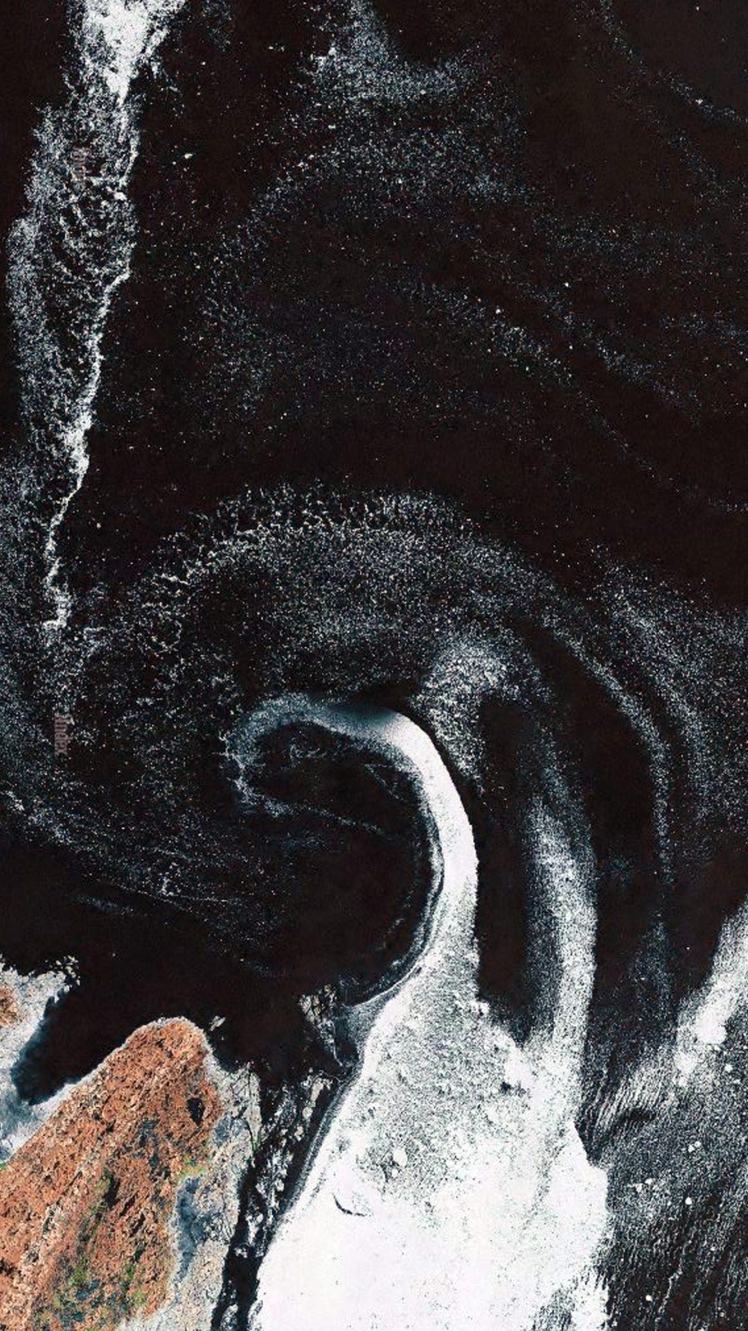 Earthview Sea Ice Cole Space Art Illustration