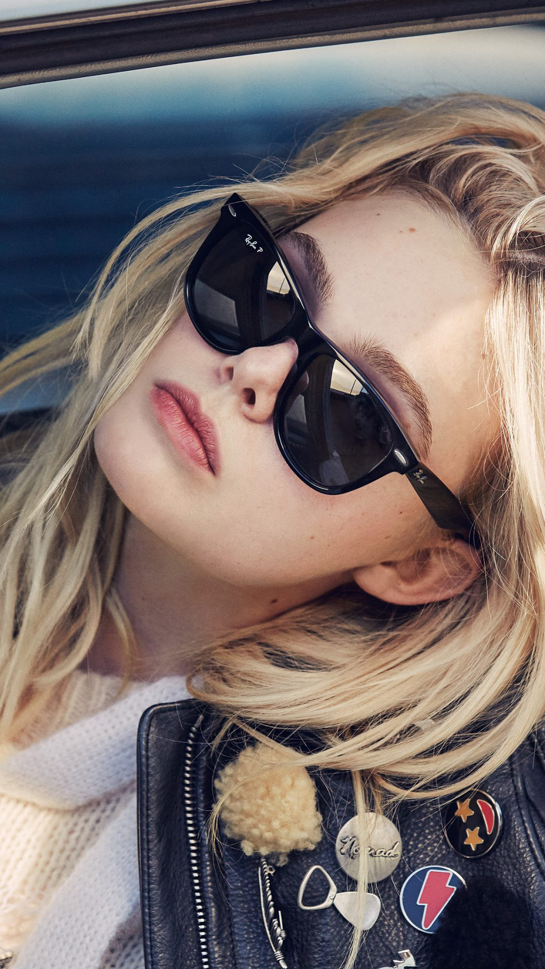 Elle Fanning Model Glasses Cute