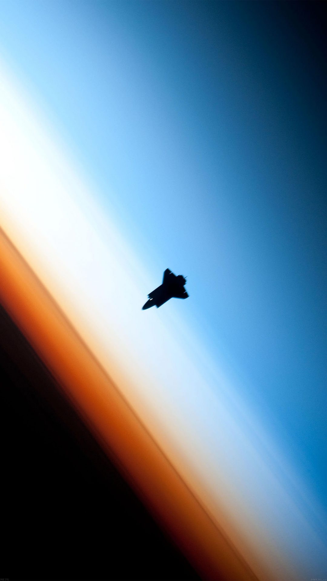 Endeavor Horizon Spaceship From Space