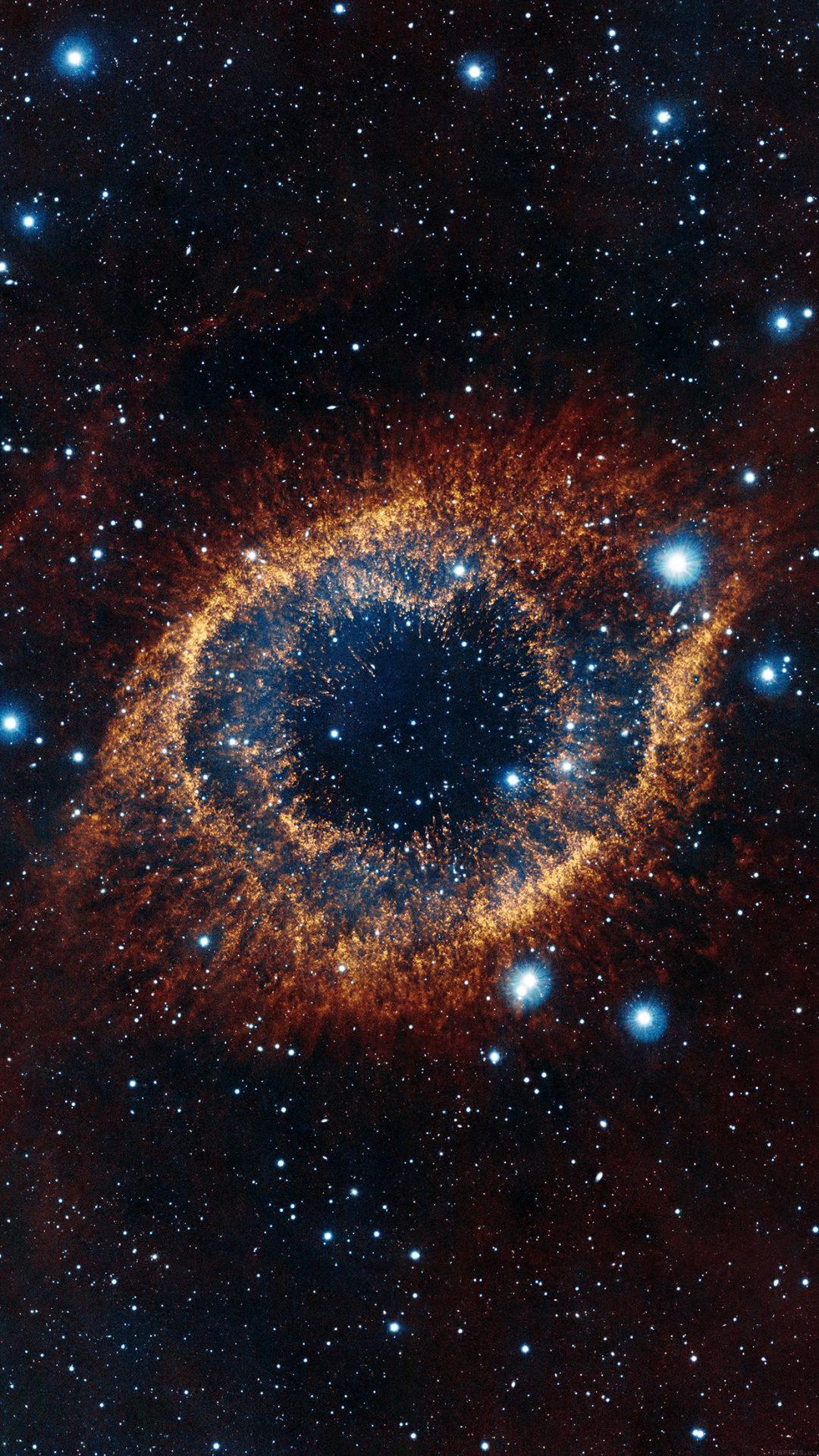 Eye Of Space Star Galaxy