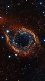 Eye Of Space Star Galaxy Flare